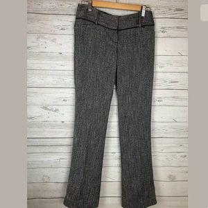 The limited herringbone drew fit pants size 2